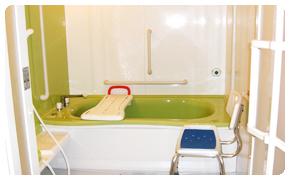 デイサービス花咲 入浴サービス