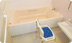 デイサービスびわの実入浴サービス
